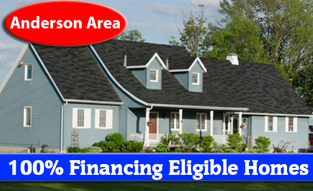 USDA home loans 100 percent financing eligible